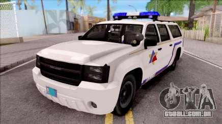 Declasse Granger Hometown PD 2012 para GTA San Andreas
