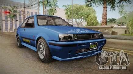 GTA 5 Karin Futo 4-doors IVF para GTA San Andreas