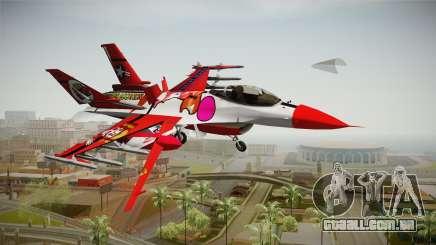 FNAF Air Force Hydra Baby para GTA San Andreas