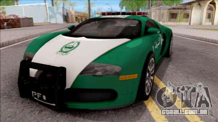 Bugatti Veyron Dubai High Speed Police para GTA San Andreas