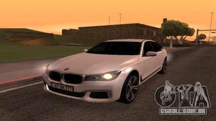 BMW 750i Armenian para GTA San Andreas