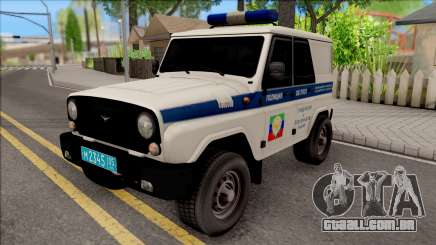 UAZ Caçador de Polícia para GTA San Andreas