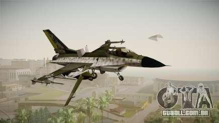 F-16A Luftwaffe WW2 para GTA San Andreas