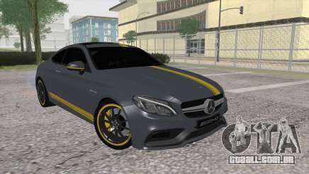 Mercedes-Benz C63 Coupe Edition 1 para GTA San Andreas