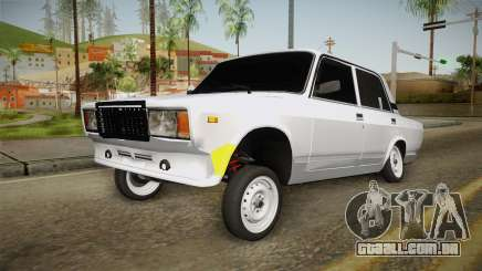 VAZ 2107 Aze Estilo para GTA San Andreas