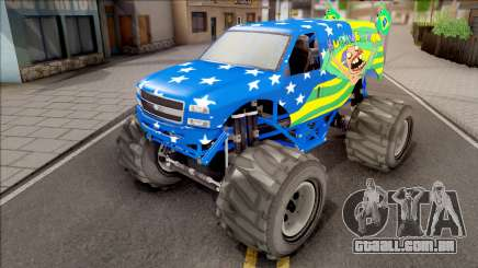 The Liberator Monster Car HueBr para GTA San Andreas