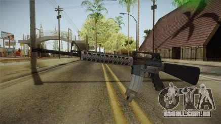Battlefield 4 M16 para GTA San Andreas