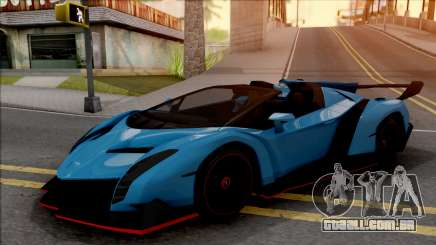 Lamborghini Veneno Roadster v.1 para GTA San Andreas