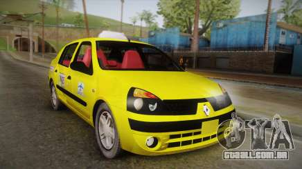 Renault Symbol Taxi para GTA San Andreas
