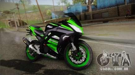 Kawasaki Ninja 300 KRT para GTA San Andreas