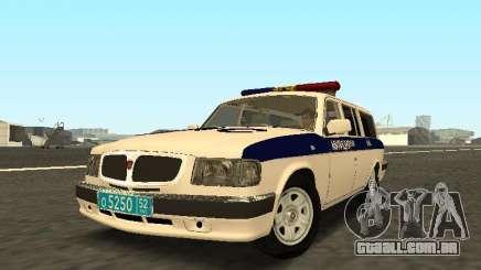 GAZ 310221 DPS Polícia para GTA San Andreas