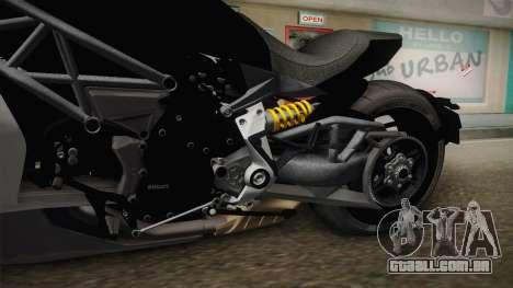 Ducati XDiavel S 2016 HQLM para GTA San Andreas vista interior