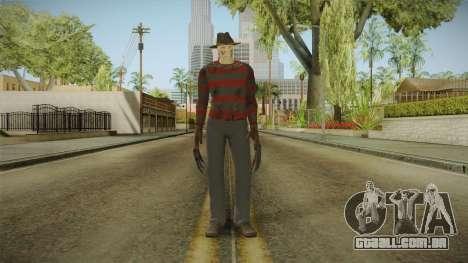 Mortal Kombat 9 - Freddy Krueger para GTA San Andreas segunda tela