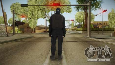 GTA Online: Black Army Skin v2 para GTA San Andreas terceira tela