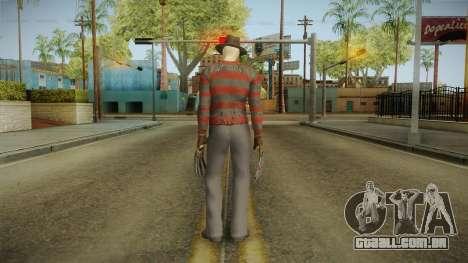 Mortal Kombat 9 - Freddy Krueger para GTA San Andreas terceira tela