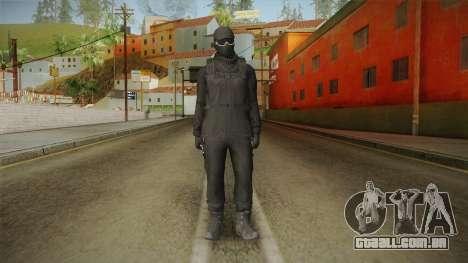 GTA Online: Black Army Skin v2 para GTA San Andreas segunda tela
