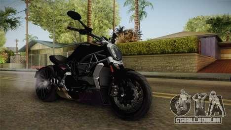 Ducati XDiavel S 2016 HQLM para GTA San Andreas vista direita