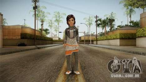 De Ninas Skin v1 para GTA San Andreas