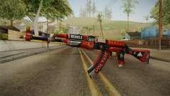 CS: GO AK-47 Bloodsport Skin