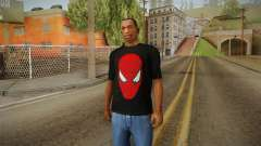 Spider-Man T-Shirt para GTA San Andreas