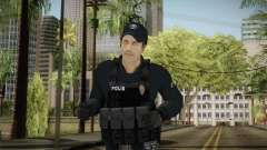 Turkish Riot Police Officer - Long Sleeves para GTA San Andreas