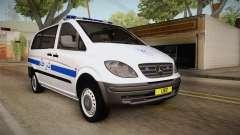Mercedes-Benz Vito Algerian Police para GTA San Andreas