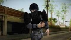 Mirror Edge Cop Heavy v1 para GTA San Andreas