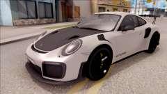 Porsche 911 GT2 RS 2017 EU Plate