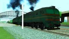 Frete locomotiva 2M62 1184 para GTA San Andreas