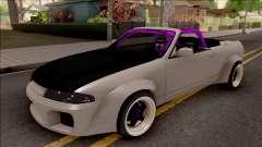 Nissan Skyline R33 Cabrio Drift Rocket Bunny para GTA San Andreas