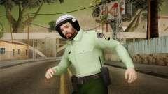 Iranian Cop Biker Skin para GTA San Andreas