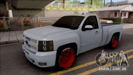 Chevrolet Silverado Single Cab para GTA San Andreas