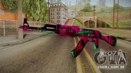 CS: GO AK-47 Neon Revolution Skin para GTA San Andreas