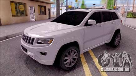 Jeep Grand Cherokee 2017 para GTA San Andreas
