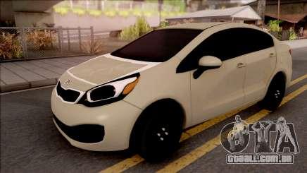 Kia Rio 2012 para GTA San Andreas