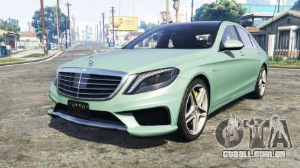 Mercedes-Benz S63 yellow brake caliper [add-on] para GTA 5