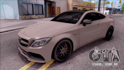 Mercedes-Benz C63S AMG Coupe 2016 para GTA San Andreas
