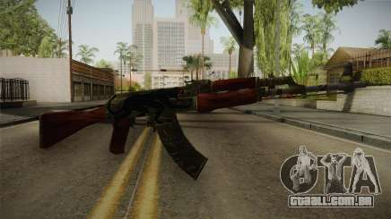 CS: GO AK-47 Jaguar Skin para GTA San Andreas