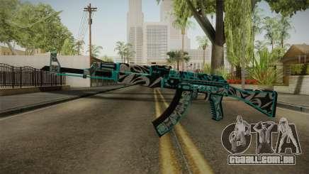 CS: GO AK-47 Frontside Misty Skin para GTA San Andreas