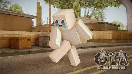 The Binding Of Isaac Skin - Minecraft Version para GTA San Andreas