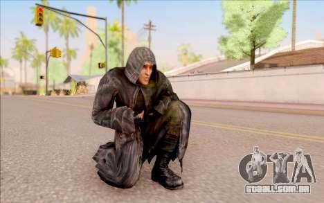 Um jovem de Porco, de S. T. A. L. K. E. R. para GTA San Andreas