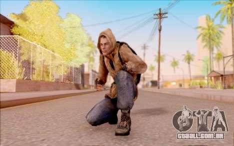 Degtyarev jaqueta de estreante do S. T. A. L. K. para GTA San Andreas quinto tela