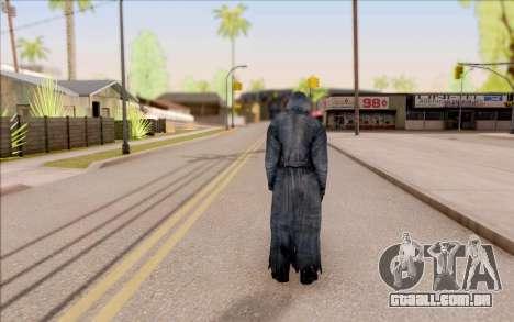 Mohammed do S. T. A. L. K. E. R. para GTA San Andreas por diante tela