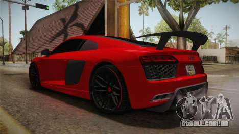 Audi R8 Vorsteiner para GTA San Andreas