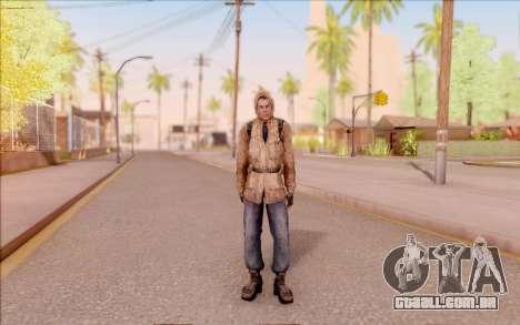Degtyarev jaqueta de estreante do S. T. A. L. K. para GTA San Andreas segunda tela