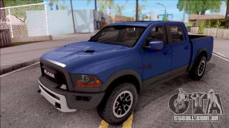 Dodge Ram Rebel 2017 para GTA San Andreas