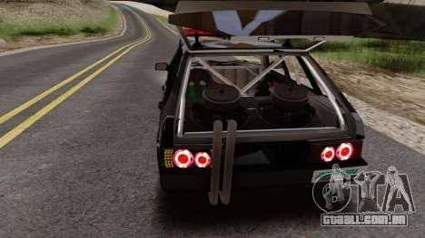 VAZ 2109 Tuning MTA para GTA San Andreas esquerda vista