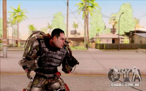 Degtyarev no exoesqueleto de S. T. A. L. K. E. R para GTA San Andreas