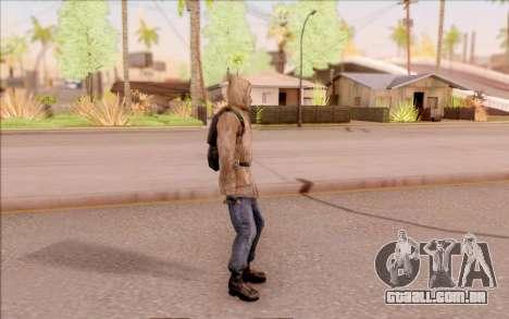 Degtyarev jaqueta de estreante do S. T. A. L. K. para GTA San Andreas terceira tela