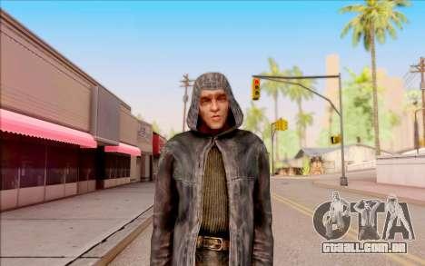 Um jovem de Porco, de S. T. A. L. K. E. R. para GTA San Andreas terceira tela